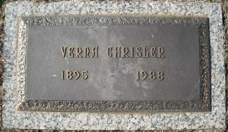 CHRISLER, VERNA - Faulkner County, Arkansas | VERNA CHRISLER - Arkansas Gravestone Photos