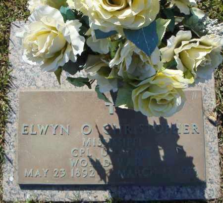 CHRISTOPHER (VETERAN WWI), ELWYN O - Faulkner County, Arkansas | ELWYN O CHRISTOPHER (VETERAN WWI) - Arkansas Gravestone Photos