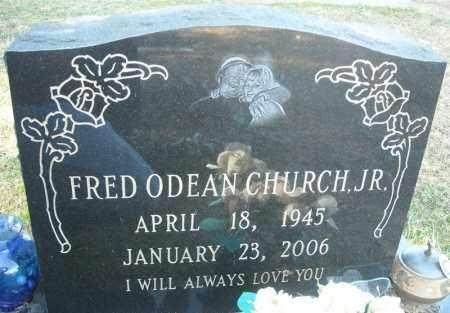 CHURCH, JR., FRED ODEAN - Faulkner County, Arkansas | FRED ODEAN CHURCH, JR. - Arkansas Gravestone Photos