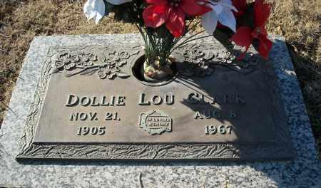 CLARK, DOLLIE LOU - Faulkner County, Arkansas   DOLLIE LOU CLARK - Arkansas Gravestone Photos