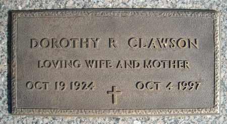 CLAWSON, DOROTHY R. - Faulkner County, Arkansas | DOROTHY R. CLAWSON - Arkansas Gravestone Photos