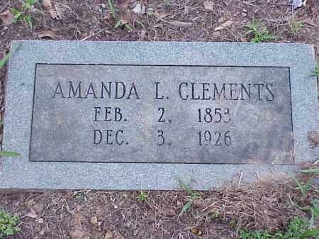 CLEMENTS, AMANDA - Faulkner County, Arkansas | AMANDA CLEMENTS - Arkansas Gravestone Photos