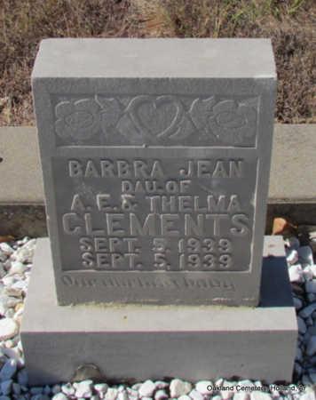 CLEMENTS, BARBRA JEAN - Faulkner County, Arkansas   BARBRA JEAN CLEMENTS - Arkansas Gravestone Photos
