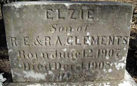 CLEMENTS, ELZIE - Faulkner County, Arkansas   ELZIE CLEMENTS - Arkansas Gravestone Photos