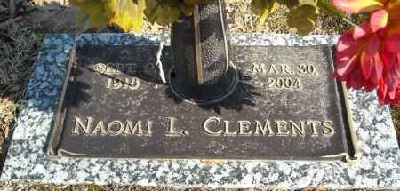 CLEMENTS, NAOMI L. - Faulkner County, Arkansas | NAOMI L. CLEMENTS - Arkansas Gravestone Photos