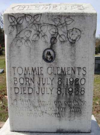 CLEMENTS, TOMMIE - Faulkner County, Arkansas | TOMMIE CLEMENTS - Arkansas Gravestone Photos