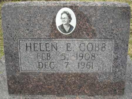COBB, HELEN E. - Faulkner County, Arkansas | HELEN E. COBB - Arkansas Gravestone Photos