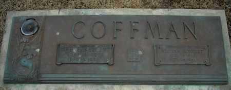 COFFMAN, WILLIAM FORREST - Faulkner County, Arkansas | WILLIAM FORREST COFFMAN - Arkansas Gravestone Photos