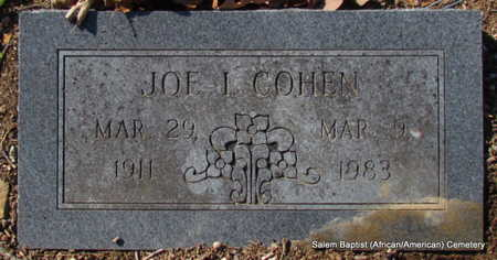 COHEN, JOE L. - Faulkner County, Arkansas | JOE L. COHEN - Arkansas Gravestone Photos