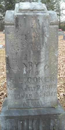 COKER, MARY O. - Faulkner County, Arkansas | MARY O. COKER - Arkansas Gravestone Photos