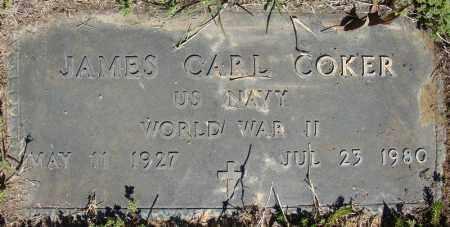 COKER (VETERAN WWII), JAMES EARL - Faulkner County, Arkansas   JAMES EARL COKER (VETERAN WWII) - Arkansas Gravestone Photos