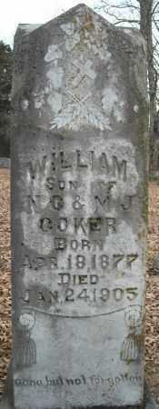 COKER, WILLIAM - Faulkner County, Arkansas | WILLIAM COKER - Arkansas Gravestone Photos