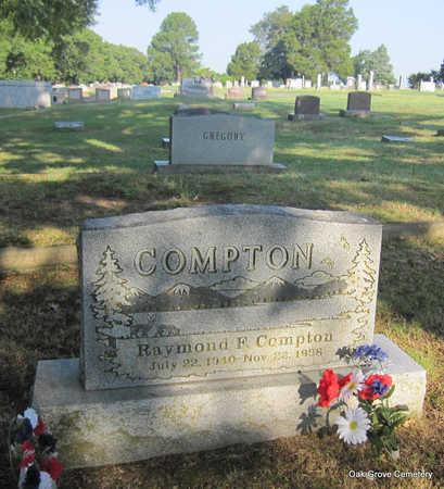 COMPTON, RAYMOND F. - Faulkner County, Arkansas | RAYMOND F. COMPTON - Arkansas Gravestone Photos