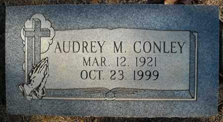 CONLEY, AUDREY M. - Faulkner County, Arkansas   AUDREY M. CONLEY - Arkansas Gravestone Photos