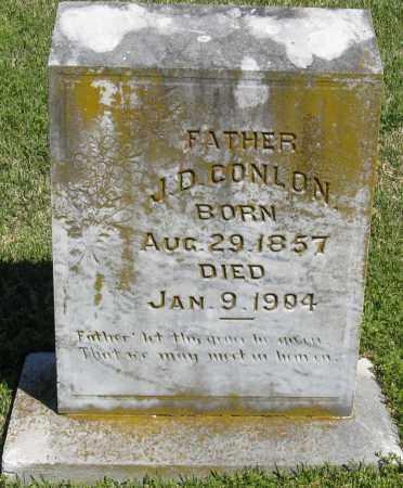 CONLON, J. D. - Faulkner County, Arkansas | J. D. CONLON - Arkansas Gravestone Photos