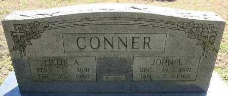 CONNER, LILLIE A. - Faulkner County, Arkansas | LILLIE A. CONNER - Arkansas Gravestone Photos