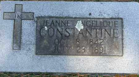 CONSTANTINE, JEANNE ANGELIQUE - Faulkner County, Arkansas | JEANNE ANGELIQUE CONSTANTINE - Arkansas Gravestone Photos