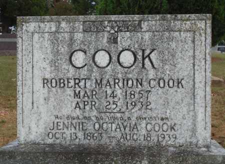 COOK, ROBERT MARION - Faulkner County, Arkansas | ROBERT MARION COOK - Arkansas Gravestone Photos