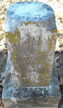 COOK (SIDE VIEW), JASPER T. - Faulkner County, Arkansas   JASPER T. COOK (SIDE VIEW) - Arkansas Gravestone Photos