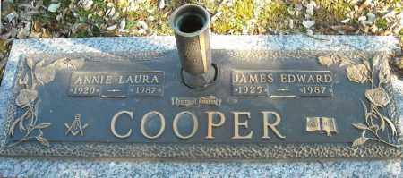 COOPER, JAMES EDWARD - Faulkner County, Arkansas | JAMES EDWARD COOPER - Arkansas Gravestone Photos