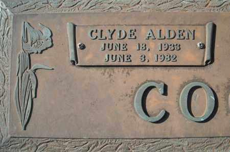 COOPER, CLYDE ALDEN  (CLOSE UP) - Faulkner County, Arkansas | CLYDE ALDEN  (CLOSE UP) COOPER - Arkansas Gravestone Photos