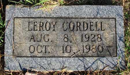 CORDELL, LEROY - Faulkner County, Arkansas | LEROY CORDELL - Arkansas Gravestone Photos