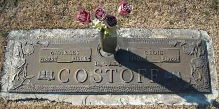 COSTOFF, CHARLES - Faulkner County, Arkansas | CHARLES COSTOFF - Arkansas Gravestone Photos