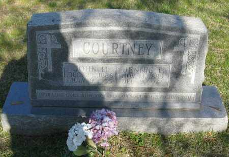 COURTNEY, JOHN H. - Faulkner County, Arkansas | JOHN H. COURTNEY - Arkansas Gravestone Photos