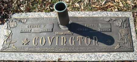COVINGTON, FANNIE V. - Faulkner County, Arkansas | FANNIE V. COVINGTON - Arkansas Gravestone Photos