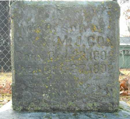 COX, INFANT SON - Faulkner County, Arkansas | INFANT SON COX - Arkansas Gravestone Photos