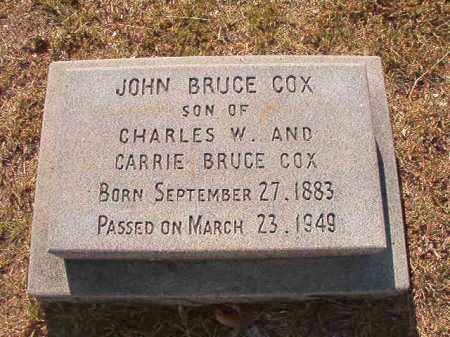 COX, JOHN BRUCE - Faulkner County, Arkansas | JOHN BRUCE COX - Arkansas Gravestone Photos