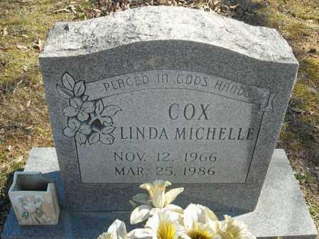 COX, LINDA MICHELLE - Faulkner County, Arkansas   LINDA MICHELLE COX - Arkansas Gravestone Photos