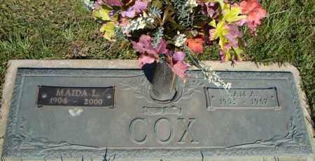 COX, MAIDA L. - Faulkner County, Arkansas   MAIDA L. COX - Arkansas Gravestone Photos