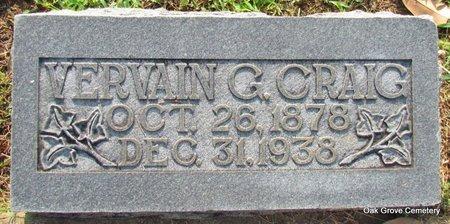 CRAIG, VERVAIN G - Faulkner County, Arkansas | VERVAIN G CRAIG - Arkansas Gravestone Photos