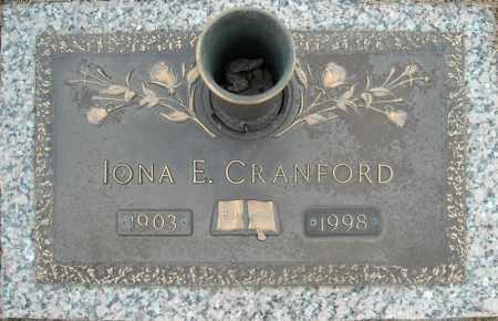 CRANFORD, IONA E. - Faulkner County, Arkansas   IONA E. CRANFORD - Arkansas Gravestone Photos