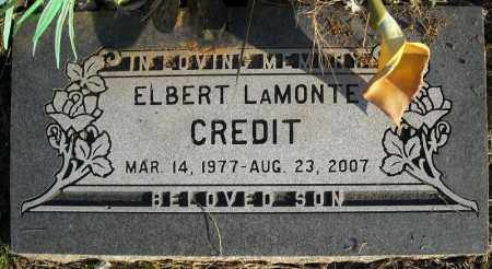 CREDIT, ELBERT LAMONTE - Faulkner County, Arkansas | ELBERT LAMONTE CREDIT - Arkansas Gravestone Photos
