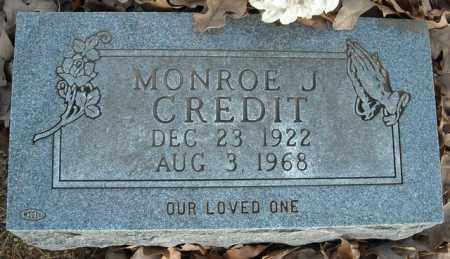 CREDIT, MONROE J. - Faulkner County, Arkansas | MONROE J. CREDIT - Arkansas Gravestone Photos