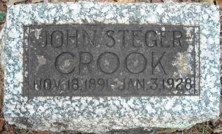 CROOK, JOHN STEGER - Faulkner County, Arkansas   JOHN STEGER CROOK - Arkansas Gravestone Photos