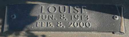 CHROUCH, LOUISE (CLOSE UP) - Faulkner County, Arkansas | LOUISE (CLOSE UP) CHROUCH - Arkansas Gravestone Photos