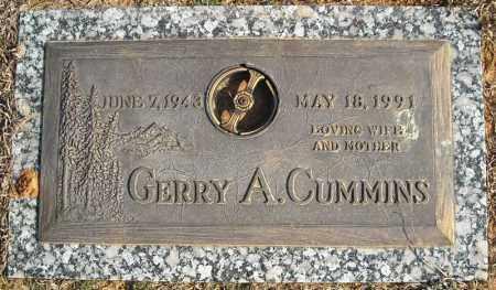CUMMINS, GERRY A. - Faulkner County, Arkansas   GERRY A. CUMMINS - Arkansas Gravestone Photos