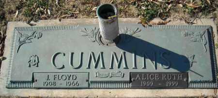 CUMMINS, J. FLOYD - Faulkner County, Arkansas | J. FLOYD CUMMINS - Arkansas Gravestone Photos