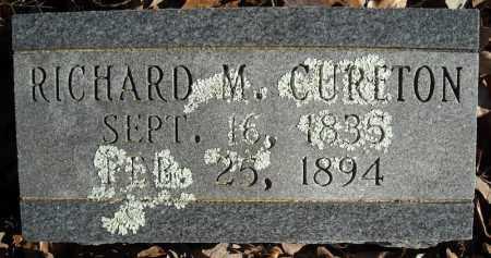 CURETON, RICHARD M. - Faulkner County, Arkansas   RICHARD M. CURETON - Arkansas Gravestone Photos