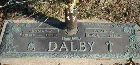 DALBY, MARIE A. - Faulkner County, Arkansas   MARIE A. DALBY - Arkansas Gravestone Photos