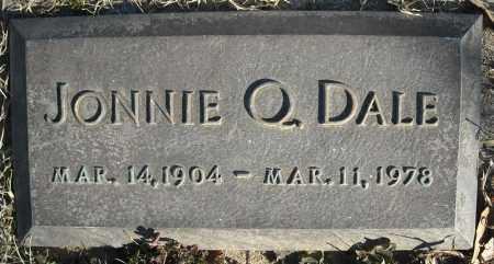 DALE, JONNIE Q. - Faulkner County, Arkansas | JONNIE Q. DALE - Arkansas Gravestone Photos