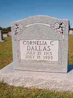 DALLAS, CORNELIA C. - Faulkner County, Arkansas | CORNELIA C. DALLAS - Arkansas Gravestone Photos
