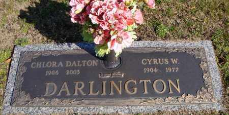 DARLINGTON, CHLORA DALTON - Faulkner County, Arkansas   CHLORA DALTON DARLINGTON - Arkansas Gravestone Photos