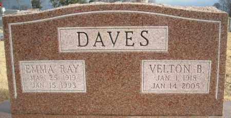 DAVES, VELTON B. - Faulkner County, Arkansas | VELTON B. DAVES - Arkansas Gravestone Photos