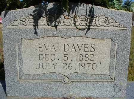 DAVES, EVA - Faulkner County, Arkansas   EVA DAVES - Arkansas Gravestone Photos