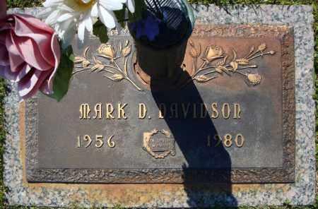 DAVIDSON, MARK D. - Faulkner County, Arkansas | MARK D. DAVIDSON - Arkansas Gravestone Photos