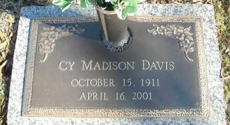 DAVIS, CY MADISON - Faulkner County, Arkansas | CY MADISON DAVIS - Arkansas Gravestone Photos